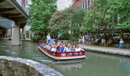 The River Walk Cruise on the San Antonio River