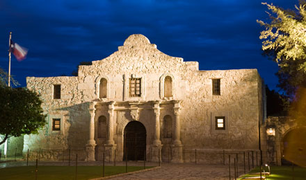 The Alamo in San Antonio TX