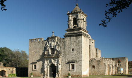 Mission Concepción in San Antonio TX