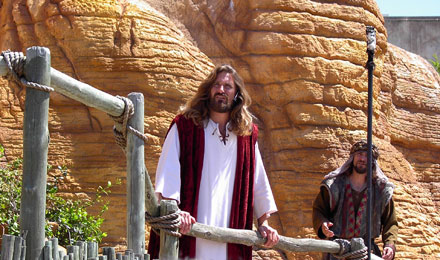 Performance at the Holy Land Experience in Orlando