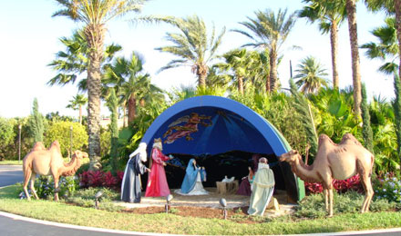 Nativity Scene at the Holy Land Experience
