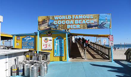 Enjoy the World Famous Cocoa Beach Pier