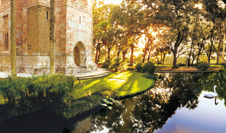Reflection Pool at Bok Tower Gardens, Lake Wales