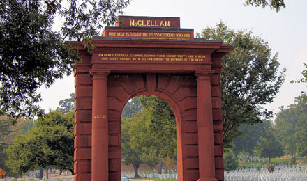 McClellan Gate at Arlington National Cemetery