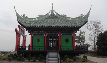 Chinese Tea House at Marble House Mansion