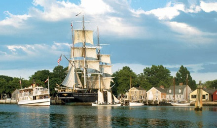 Historic Ships in Mystic Seaport