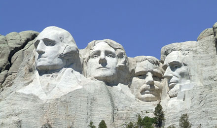 Mount Rushmore National Memorial, Keystone,SD