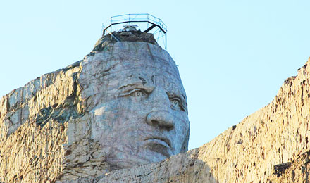 Black Hills Crazy Horse Monument, South Dakota