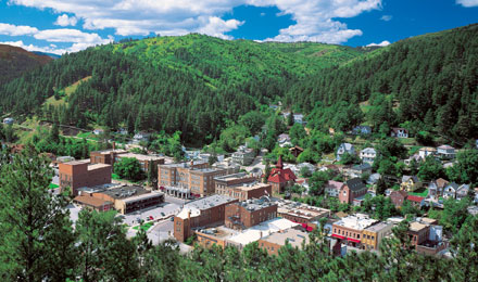 Historic Deadwood, Black Hills, South Dakota