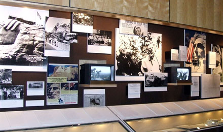 An Exhibit at the Borglum Historical Center SD