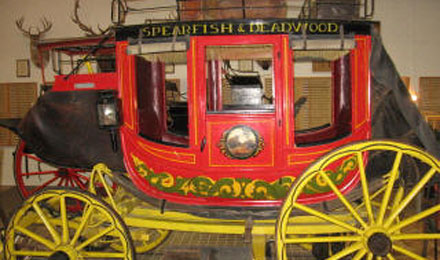 Historic Stage Coach, High Plains Heritage Center