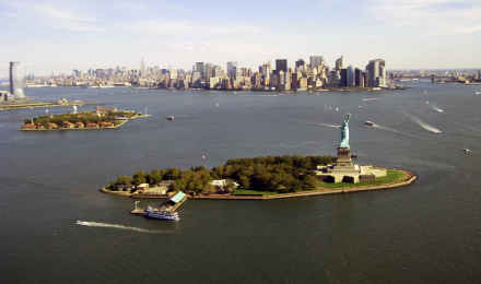 Liberty Island, New York Harbor