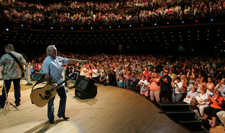 Country Star on Grand Ole Opry Stage
