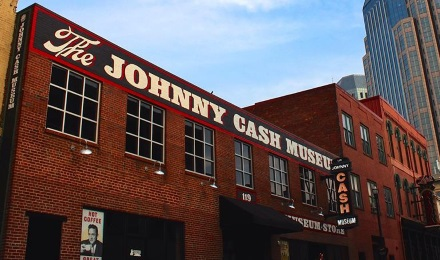 The Johnny Cash Museum in Downtown Nashville