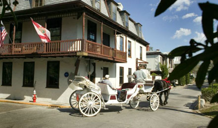 Horse and Buggy in St. Augustine Old Town