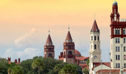 Building Tops, St. Augustine, Florida