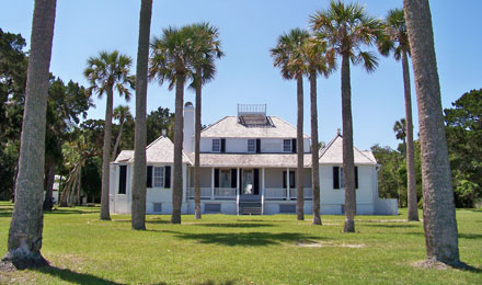 Kingsley Plantation on Fort George Island, Florida
