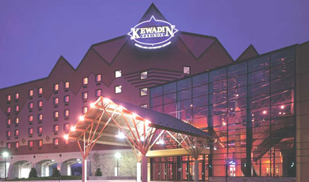External view of Kewadin Casino, Sault Ste. Marie