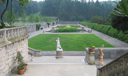 Italian Garden at the Biltmore Estate
