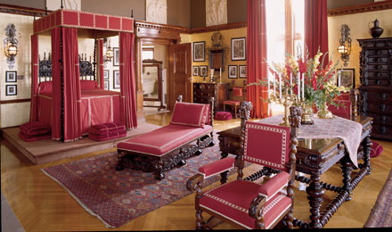 A Room Inside the Biltmore House in Asheville NC