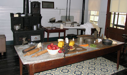 Kitchen, Thomas Wolfe Memorial