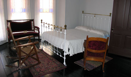 Bedroom, Thomas Wolfe Memorial