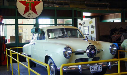 Classic Car in Historic Route 66 Museum, Kingman