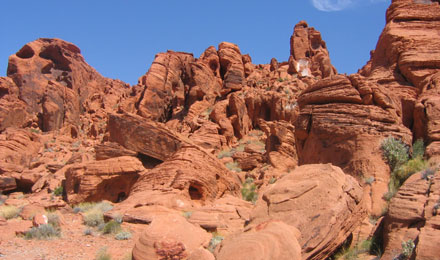 Inside Valley of Fire State Park, Overton, NV