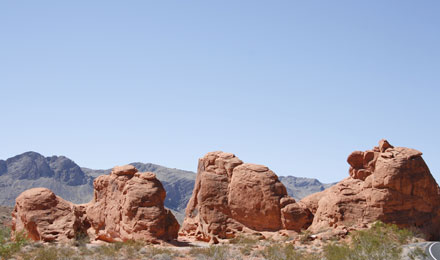 Seven Sisters in Valley of Fire State Park