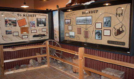 Exhibit, Mohave Museum of History and Art in Kingm