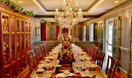Dining Room at Southfork Ranch