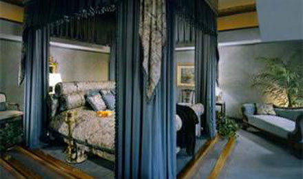 Bedroom at the Southfork Ranch