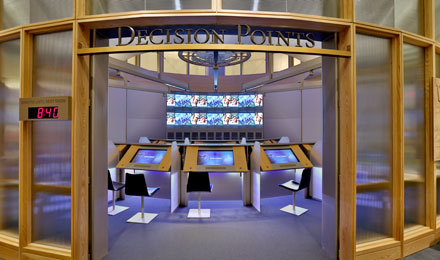Exhibits, Decision Points Theater, Dallas, Texas