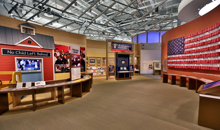 Inside the George W. Bush Presidential Library