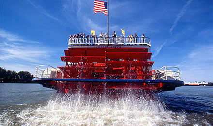 Enjoy a Beautiful Riverboat Cruise!