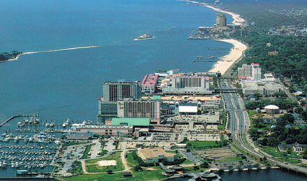 Waterfront Gaming on the Mississippi Gulf Coast