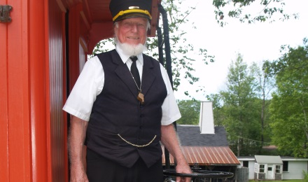 Picture of a Railroad Conductor