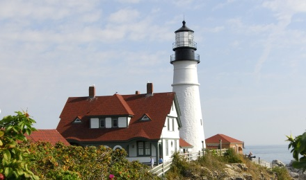 Famous Portland Head Lighthouse
