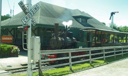 Ride the trains at Boothbay Railway Village