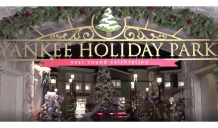 Celebrate Christmas year round at Yankee Candle Village
