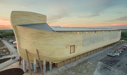 Life-size reconstruction of Noah's Ark