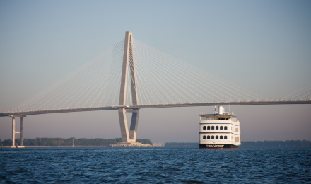 Enjoy a relaxing cruise around Charleston Harbor