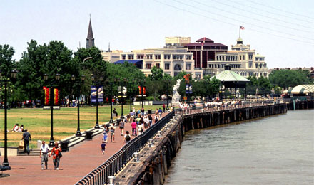River Walk in New Orleans, LA