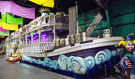 See Mardi Gras Floats!