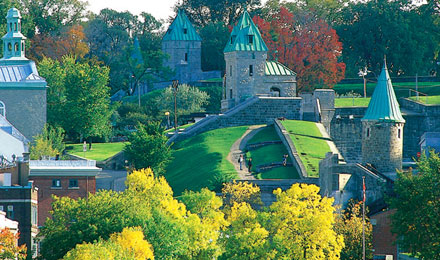 Stunning Scenery in Quebec City, Canada