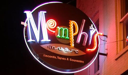Memphis sign, Memphis, Tennessee