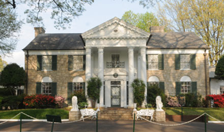 Outside Graceland Mansion, Memphis, TN