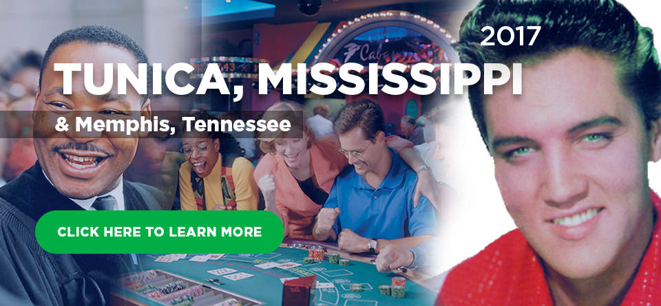Tunica, Mississippi and Memphis, Tennessee