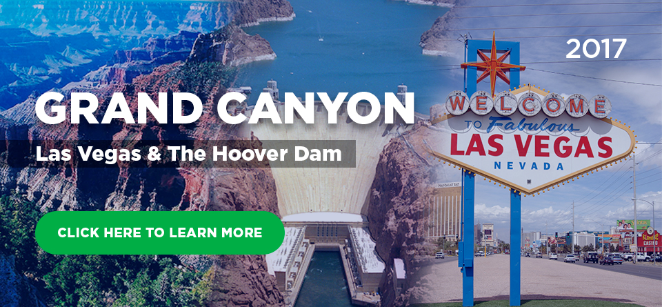 Grand Canyon, Las Vegas, and The Hoover Dam