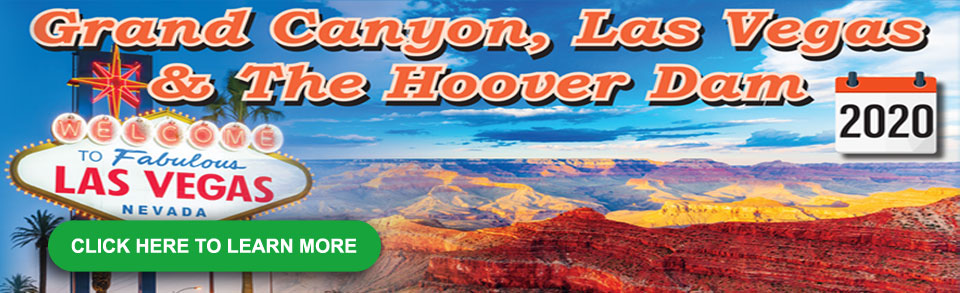 Grand Canyon, Las Vegas & The Hoover Dam